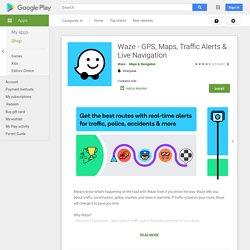 Waze GPS Social & Trafic