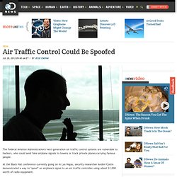 Air Traffic Control Could Be Spoofed