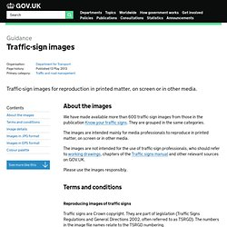 Traffic signs and signals