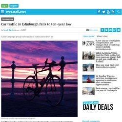 Car traffic in Edinburgh falls to ten-year low