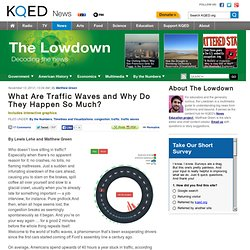 What Are Traffic Waves and Why Do They Happen So Much?