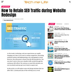 How to Retain SEO Traffic during Website Redesign?