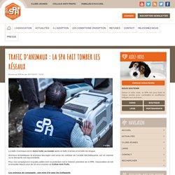 SPA 25/11/15 TRAFIC D'ANIMAUX : LA SPA FAIT TOMBER LES RÉSEAUX