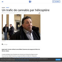 Un trafic de cannabis par hélicoptère