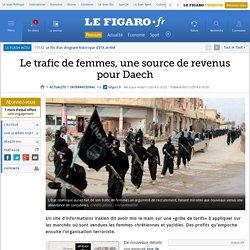 Le trafic de femmes, une source de revenus pour Daech