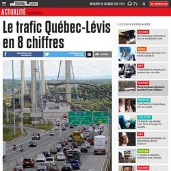 Le trafic Québec-Lévis en 8 chiffres