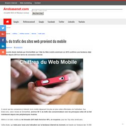 56% du trafic des sites web provient du mobile