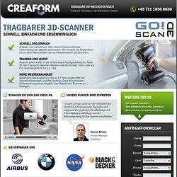 Tragbarer 3D-Scanner