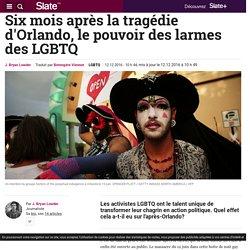 Six mois après la tragédie d'Orlando, le pouvoir des larmes des LGBTQ