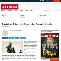 Tragédie de Thiaroye : lettre ouverte à François Hollande
