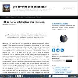 La morale et le tragique chez Nietzsche