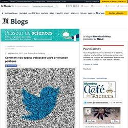 Comment vos tweets trahissent votre orientation politique