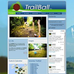 TrailBall : Site officiel du sport melange cross, foot, course nature