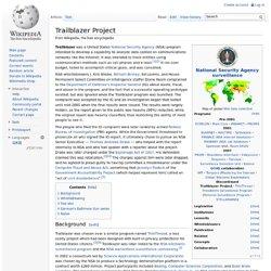 Trailblazer Project