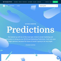 6 Trailblazing Email Marketing & Automation Predictions for 2018