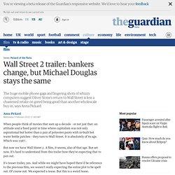 m. Wall Street 2 trailer