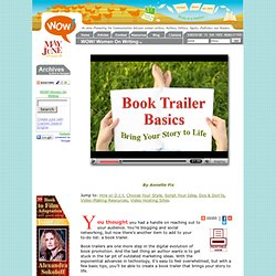 Book Trailer Basics