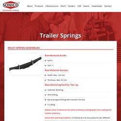 Trailer Springs Exporter