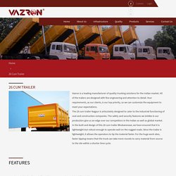 Trailer Manufacturers In Nagpur