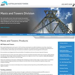 Masts and Towers - Skid and Trailer Mounted, Telescopic, Free Standing