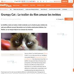 Grumpy Cat : Le trailer du film amuse les twittos