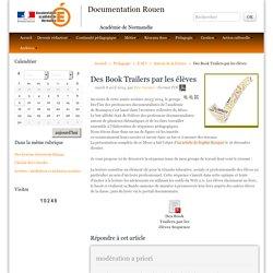 Des Book Trailers par les élèves - Documentation Rouen