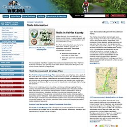 Trails in Fairfax County