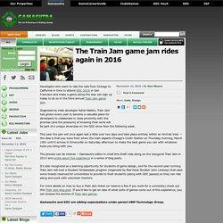 The Train Jam game jam rides again in 2016