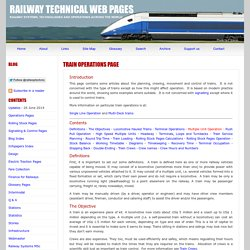 Train Operations Page