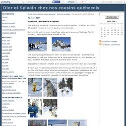 traineau à chien sur l'île d'Orléans - Dior et Sylvain chez nos cousins québecois