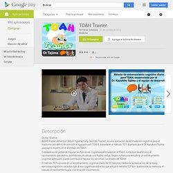 TDAH Trainer - Aplicaciones Android en Google Play