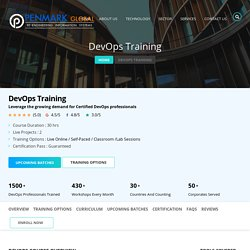Devops Training Online – Contact Penmark Solutions Now!