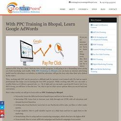 PPC Training in Bhopal, Learn Google AdWords – SEO AIM POINT