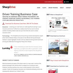 Driver Training Business Case
