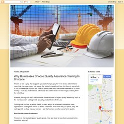 Why Businesses Choose Quality Assurance Training In Brisbane