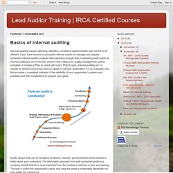 IRCA Certified Courses : Basics of internal auditing