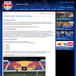 Red Bulls Soccer Training Skills Challenge Red Bulls Soccer Academy