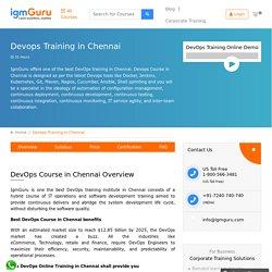 Best DevOps Training in Chennai