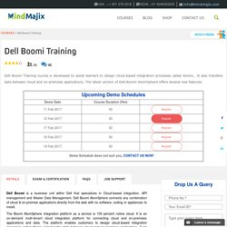Live Dell Boomi Training Classes by Experts