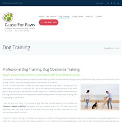 Dog Training Classes/Obedience Classes