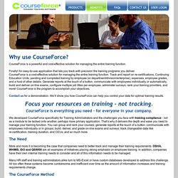 Employee Training Tracking Software By CourseForce