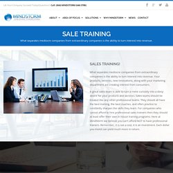 Sales training in New York