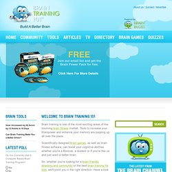 Brain Training, Brain Exercise, Brain Fitness by Brain Training 101