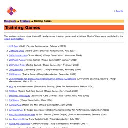 Training Games Thiagi