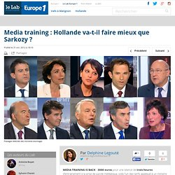 Media training : Hollande va-t-il faire mieux que Sarkozy ?