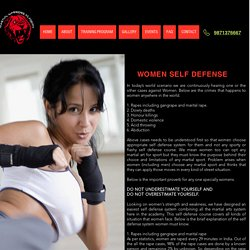 Women Self Defense Classes Training Center in Indirapuram, Vaishali