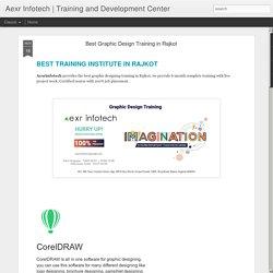 Best Graphic Design Training in Rajkot