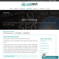 Website SEO Training Institute in Surat