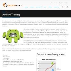 android training institutes in Bangalore