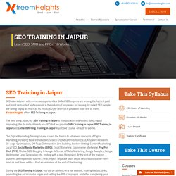Join 10 Weak SEO Training In Jaipur